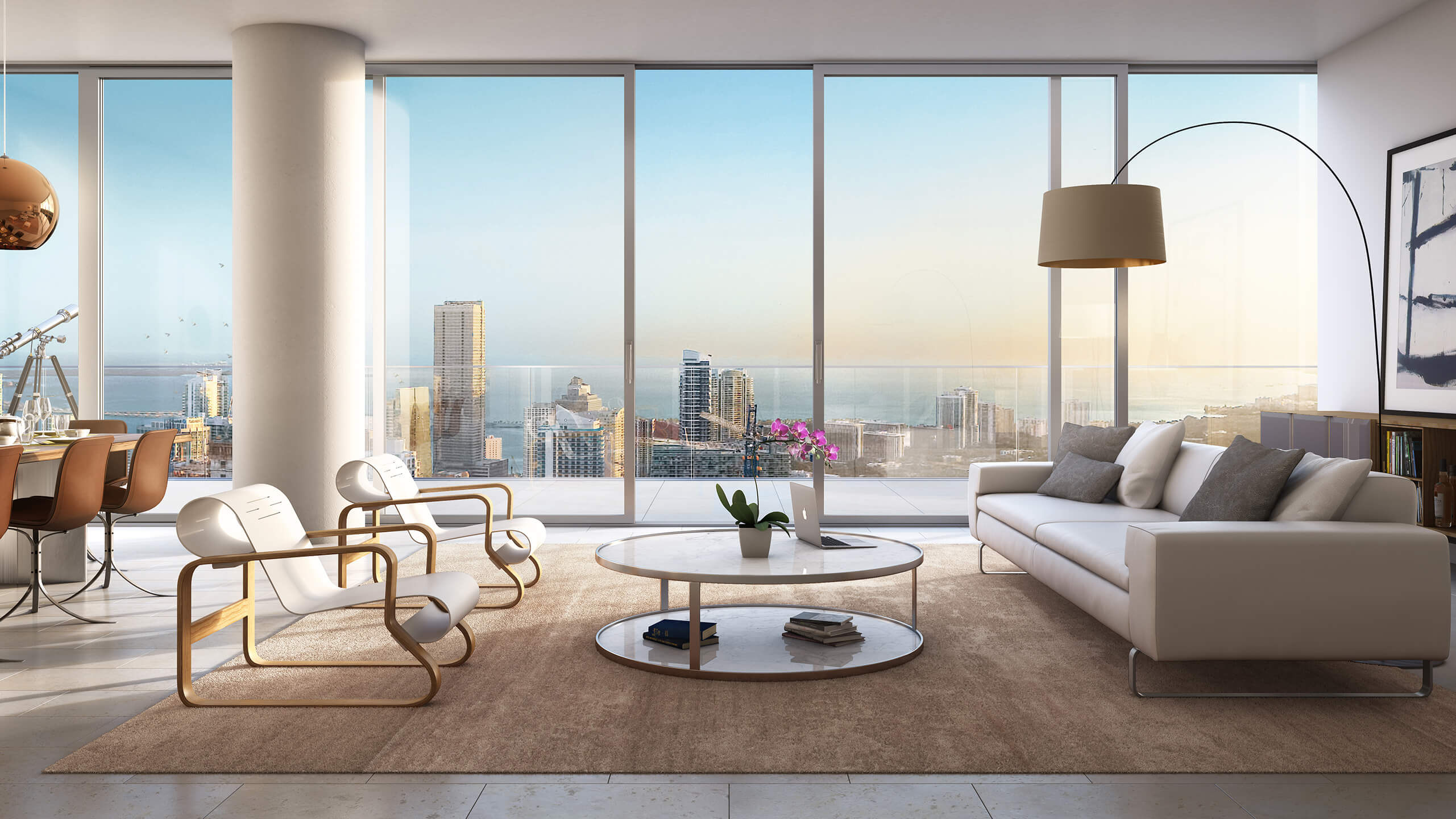 Visualhouse-Riverfront-Apt-Interior-Looking-Out