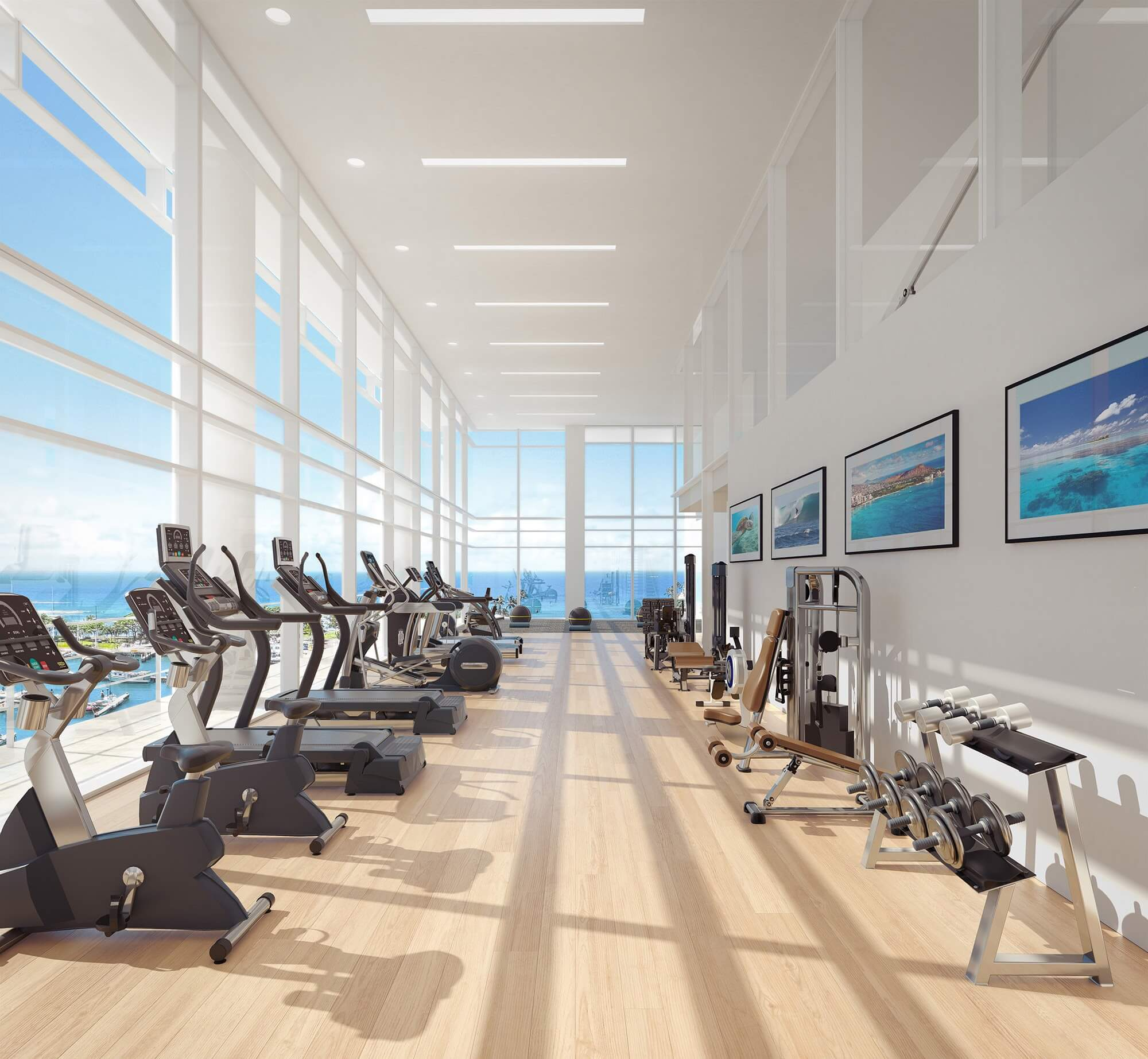 Howard-Hughes_Ward-Gateway_Luxury-Residential-Blade-Gym